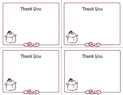 Free To Create Printable Thank You Cards And Envelopes