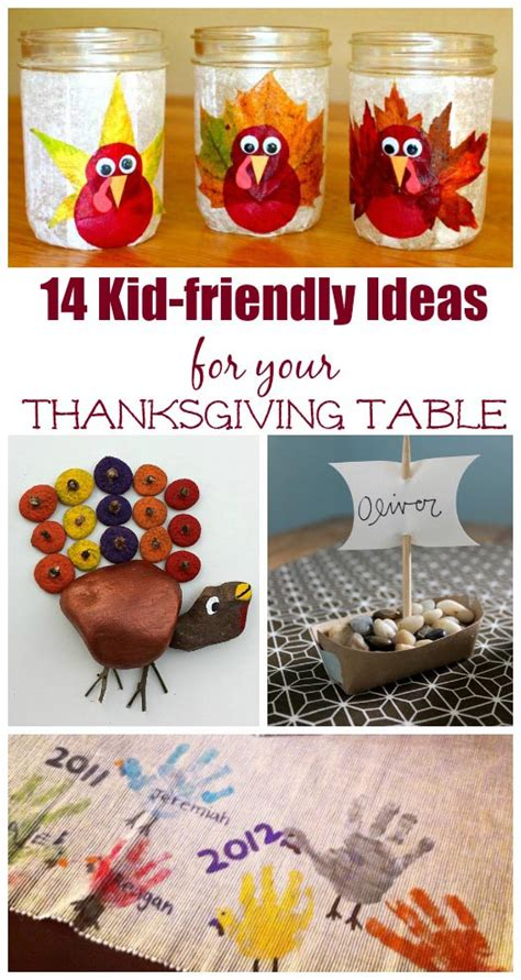 thanksgiving table crafts for 14 crafts for your thanksgiving table edventures
