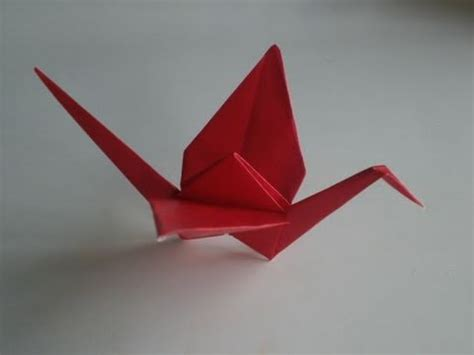 origami of crane origami crane how to make