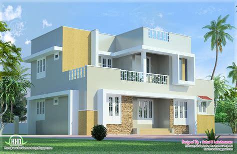 2 floor house beautiful 2 floor villa elevation in 1400 sq kerala home design and floor plans