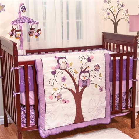 purple nursery bedding sets crib bedding sets 2018 mini baby nusery crib bedding