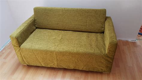 slipcover for sofa bed slipcover for solsta sofa bed from ikea olive green