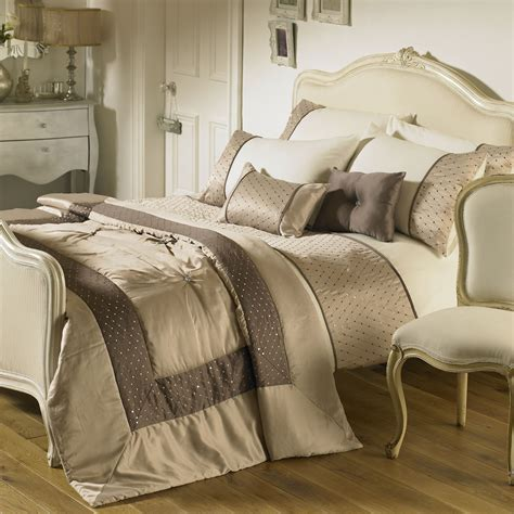 home bedding sets riva home romantica bedding set in taupe next day