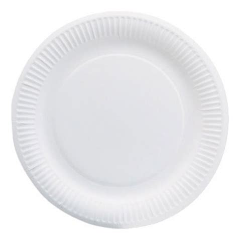 6 Paper Plates White Package 100 Each Staples 174