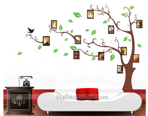 Photo Frame Wall Stickers memory tree photo frame wall stickers wallstickerdeal com