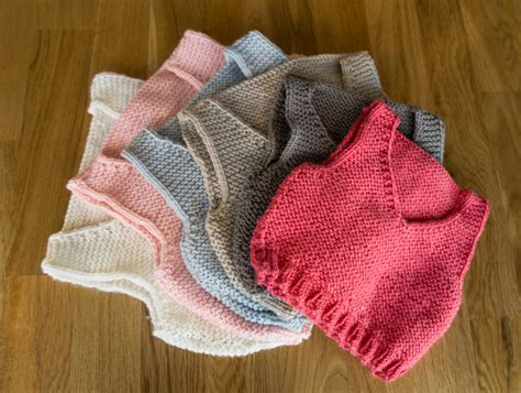 easy knit vest for beginners easy knitting pattern baby vest baby warmer