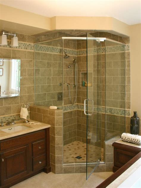 bathroom corner showers corner shower bathroom shower ideas