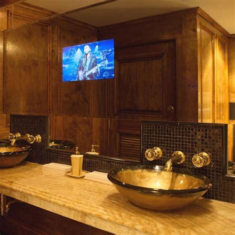 tv bathroom mirror bathroom mirrors with built in tvs