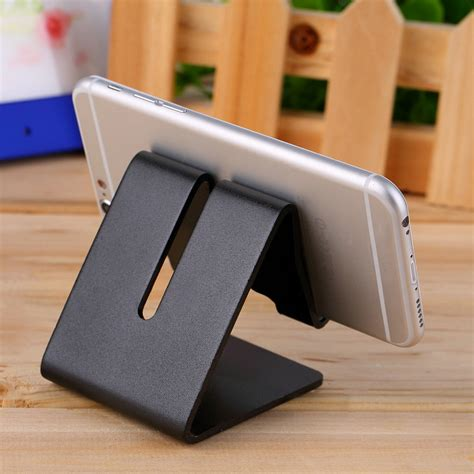 desk cell phone stand universal cell phone desk aluminum stand holder for mobile