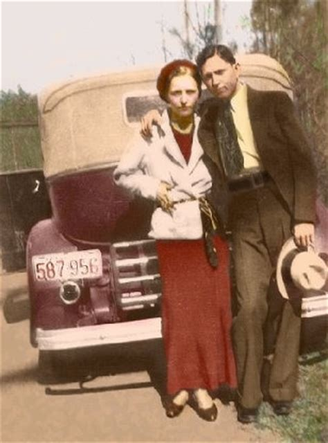 the real bonnie and clyde history pinterest