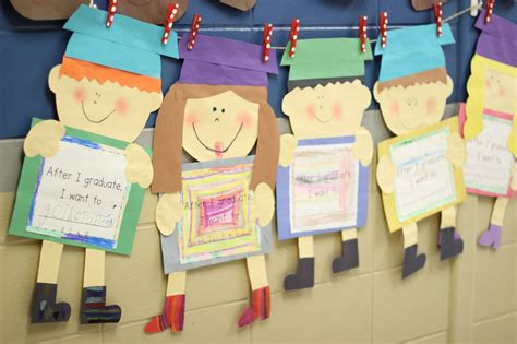 Grade Blue Skies Graduation Kid Craft And