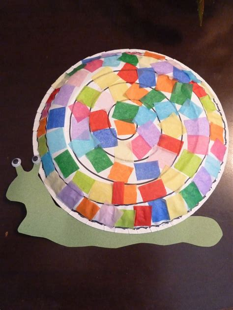 snail paper plate craft room extraordinaire bug friday