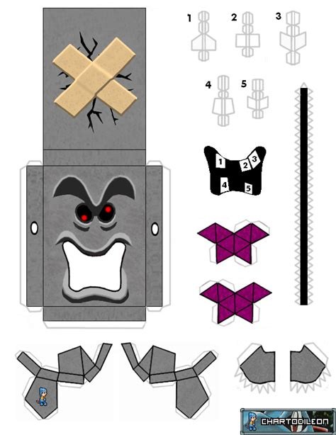 paper craft mario web wanderers august 2011