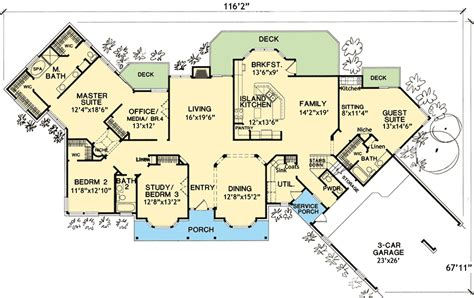 house plans with inlaw suites house plan with in suite 3067d architectural designs house plans