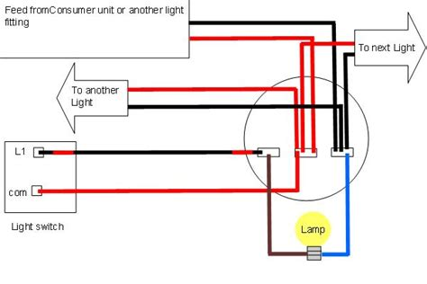 wiring lights light wiring diagrams light fitting