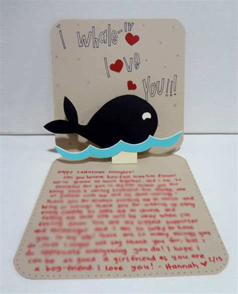 card for boyfriend handmade card for boyfriend silly hammy hoblob lover