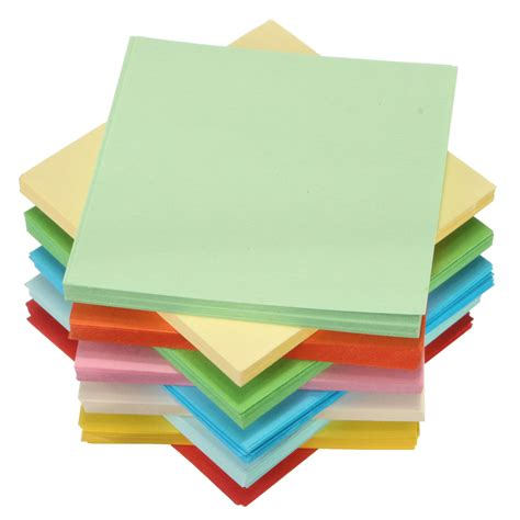 origami sided paper 100 520 sheets origami square paper sided coloured