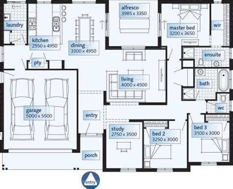 single story floor plans single story house floor plans single floor house plans