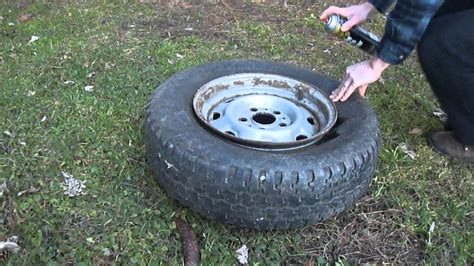 how to seat a tire bead seating setting a tire bead in an emergency