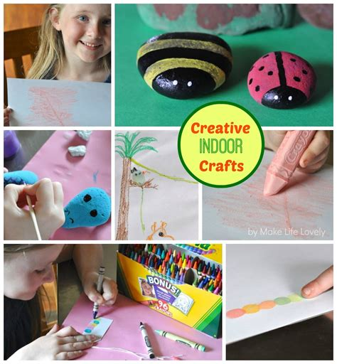 indoor crafts for creative indoor crafts with crayola make lovely