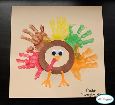 thanksgiving turkey craft for handprint thanksgiving turkeys family crafts