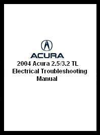 1996 acura 3 2 tl electrical troubleshooting manual 2004 acura 2 5 3 2 tl electrical troubleshooting manual