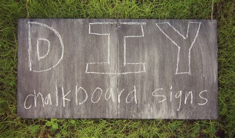 chalkboard diy signs diy wood chalkboard signs tiffanylanehandmade