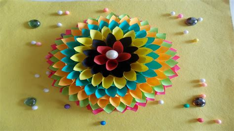 home decor paper crafts easy diy home decor ideas how to make wall decoration