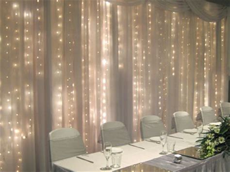 drapes and lights for weddings shear pipe drape and wedding rentals for denton