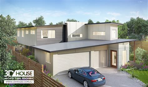 How To Read Floor Plans 3d house architectural 3d rendering sunshine coast qld