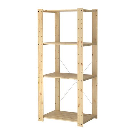 wood shelves ikea gorm shelving unit 30 3 4x21 5 8x68 1 2 quot ikea