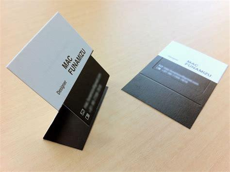 make business cards on mac mac funamizu business card design inspiration card