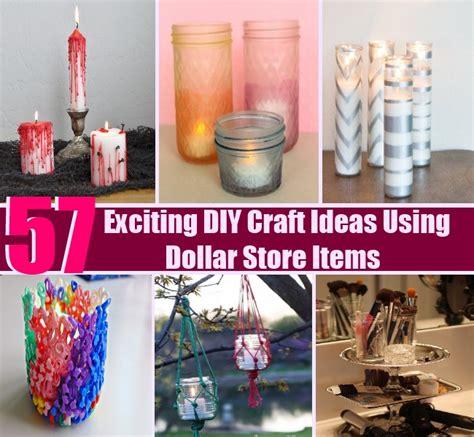 diy craft ideas for 57 exciting diy craft ideas using dollar store items diy