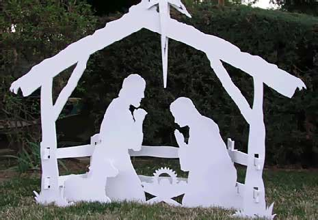 nativity pattern woodworking plans plans for wooden nativity plans free