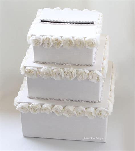 Rhinestones For Cakes Decorations by Wedding Money Box Card Box Gift Card Holder By Jamiekimdesigns