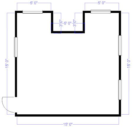 How To Draw A Floor Plan On The Computer how to measure and draw a floor plan to scale