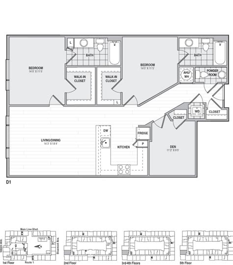 frasier floor plan the frasier rentals alexandria va apartments
