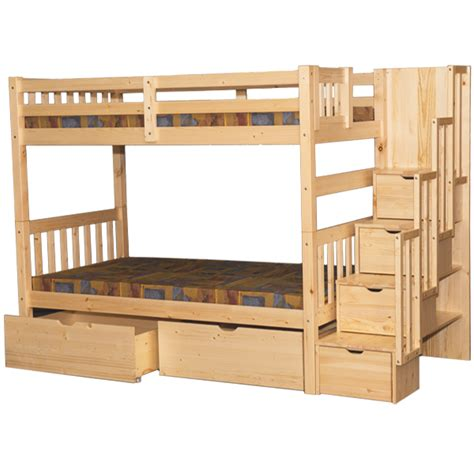 bunked bed stairway bunk bed staircase bunk beds
