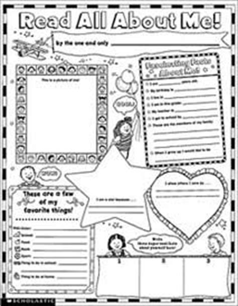 instant personal poster sets read all about me 30 big write and read learning posters ready for to personalize and display with pride self advocacy skills for on all about me