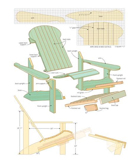 woodworking plans adirondack chairs wood work adirondack chair plans canada pdf plans