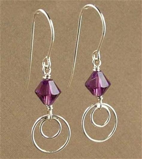 jewelry earring ideas simply modern amethyst earrings jewelry design ideas