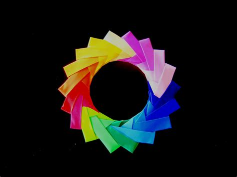 how to make a paper ring origami how to make an origami ring from mette units