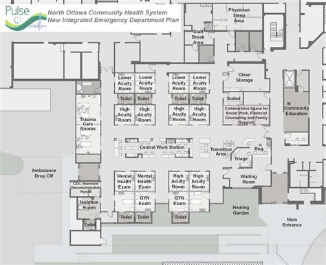 emergency department floor plan lakeshore health system unveils plans for state of the