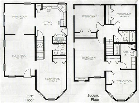 story house floor with basement and house the 2 story house plans with basement awesome house drawings 5