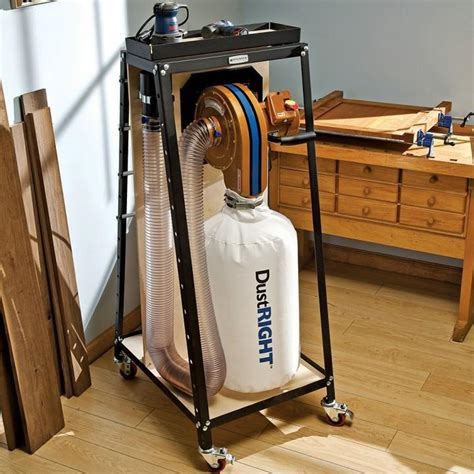 dust collection woodworking dust right wall mount dust collector rockler woodworking