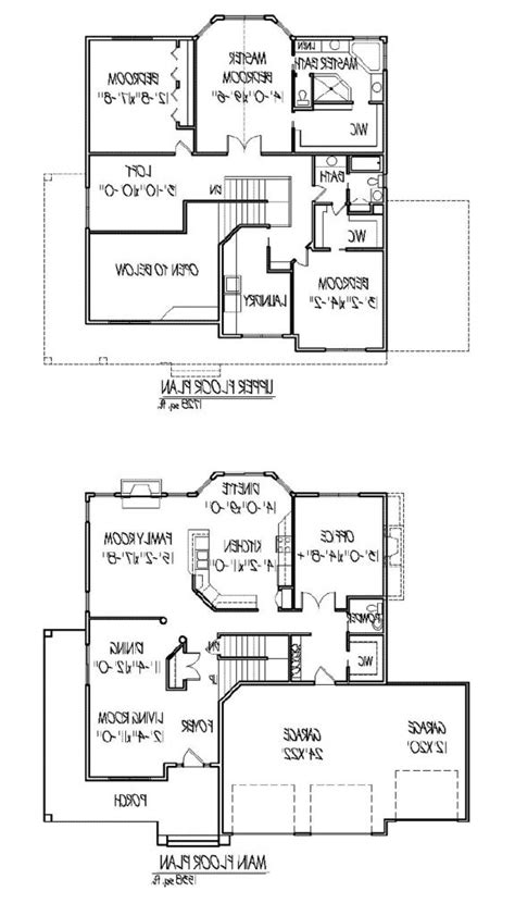 2 story open floor plans two story home plans with open floor plan inspirational modern 2 story house plans new home