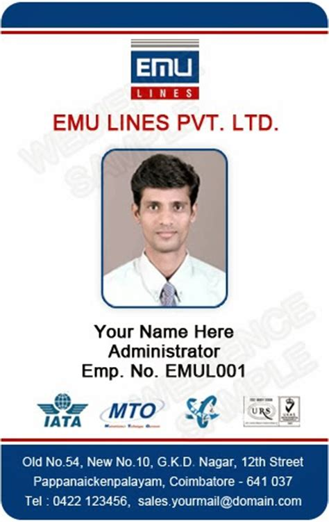 how to make employee id cards template galleries employee id card templates 140310