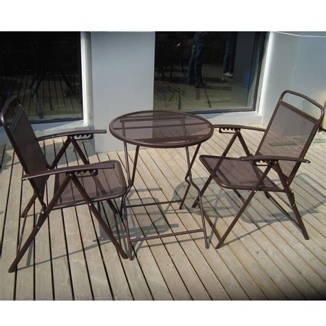 patio chairs and tables metal patio table and chairs set marceladick