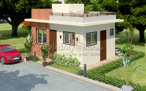 30x30 House Plans chalet 1 bhk house design plan
