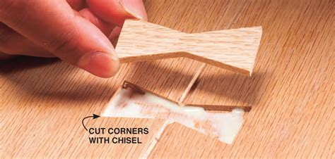 inlay woodworking how to make a butterfly inlay diy butterfly joints for